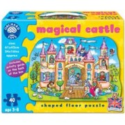 Puzzle De Podea Castelul Magic (40 Piese) Magical Castle