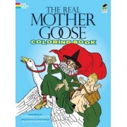 The Real Mother Goose Coloring Book by Blanche Wright