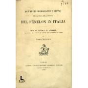 Documenti Bibliografici E Critici Per La Storia Della Fortuna Del Fenelon In Italia (Tesi)