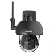 Motorola Scout 73 Cámara de vigilancia inalámbrico exterior para los animales domésticos, color negro