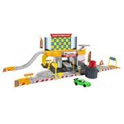 Majorette 212050011 - Garage e pit stop in miniatura, incl. macchinina