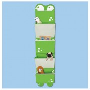 Pkolino Mess Eaters: Hanging Organiser - Green