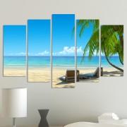 Декоративeн панел за стена с морски пейзаж Vivid Home