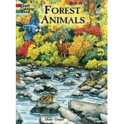 Forest Animals Colouring Book by Dianne Gaspas
