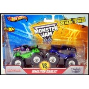 2013 Hot Wheels Monster Jam Truck Grave Digger Vs Son-uva Digger 2 Pack, 1:64 by Hot Wheels