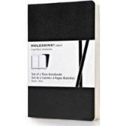 Moleskine Volant Pocket Plain Black by Moleskine
