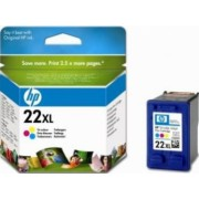 Cartus HP 22XL Tri-color Inkjet Print Cartridge