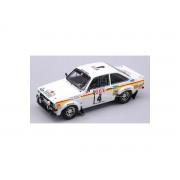 Trofeu TF10214 FORD ESCORT MK II N.4 MAROC'76 1:43 Modellino