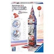 Puzzle 3D Ravensburger Big Ben Union Flag 216 Pieces