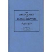 The Bibliography of Human Behavior by Hiram P. Caton