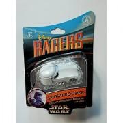 Disney Racers Star Wars Snowtrooper1/64 Die-Cast Metal Body Toy Racer Car Disney Parks Authentic Original