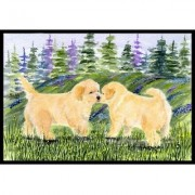 Caroline's Treasures Golden Retriever Doormat SS8102JMAT / SS8102MAT