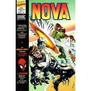 """Les 4 Fantastiques / Fantastic Four ( """" Atlantis Rising """" ) + Fantastic Force + Peter Parker Alias L'araignée ( Spider-Man : """" Acteurs Et Pions """" ) : Nova N° 222 ( Juillet 1996 )"""