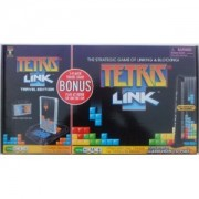 Tetris Link play at home game with Bonus 2 player travel game included by Techno Source