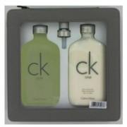 Calvin Klein Ck One 6.7 oz / 198.14 mL Eau De Toilette Spray + 8.5 oz / 251.35 mL Body Lotion Gift Set Men's Fragrance 422027