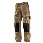 Bosch Professional 618800287 Pantalones, color beige, talla W34 L35