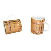 Tazza a forma di borsa - Modello Beige