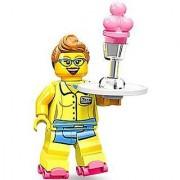 LEGO Minifigures Series 11 Diner Waitress Mini Figure