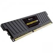 Памет Corsair DDR3L, 1600MHz 8GB 1x240 Dimm, Unbuffered, 9-9-9-24, Vengeance Black Low Profile Anodized Aluminum Heatspreader, CML8GX3M1C1600C9