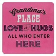tinnen magneet - grandma's place