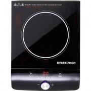Indukciós főzőlap kisméretű állítható hőmérséklet és teljesítménnyel Basetech 606c1r (1486260)