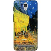 The Racoon Lean Cafe Terrace at Night hard plastic printed back case / cover for Asus Zenfone C ZC451CG