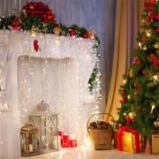 Blumfeldt Dreamhouse Guirnalda luminosa 24m 480 LED blanco frío Flash Motion