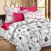 Story@Home Mix N Match Cotton Double Bed Sheet- Mt1206
