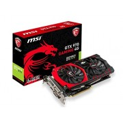Msi GTX 970 GAMING 4G, Scheda Video, 4 GB GDDR5, PCIe, Nero/Antracite