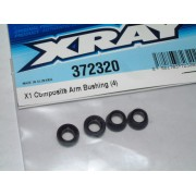 XRay 372320 X1 F1 Composite arm bushings (4)