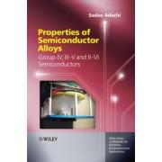 Properties of Semiconductor Alloys by Sadao Adachi