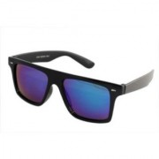 Derry Sunglasses in Wayfarer style in Black Shade With mirror Lens(Goggles) DERY514