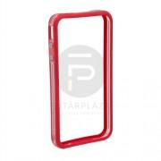 IPhone 4/4s védőkeret átlátszó piros 55404A