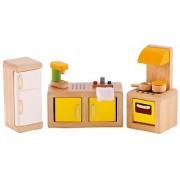 Hape - Kitchen Wooden Doll House Furniture