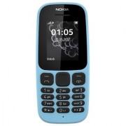 Nokia105 Single Sim - 2017 (Blue)