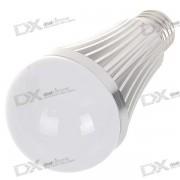 E27 7W 7-LED 630-Lumen 6000K White Light Bulb (85~265V AC)