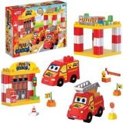 Dede Fire Station Play Set 48 Piece