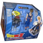Dragon Ball Z One Wheel Bike W/Exclusive Super Saiyan Gohan 5 Action Figure (2002 iRWIN toy)
