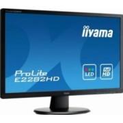 Monitor LED 21.5 Iiyama E2282HD-B1 Full HD 5 ms Negru
