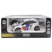 Nikko - 160235a - Radio Control - Car - Red Bull Volkswagen Polo Wrc