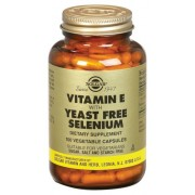 Solgar Vitamin E with Selenium 100 capsules unleavened
