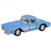 Kinsmart Die-Cast Metal 1957 Chevrolet Corvette (Blue)