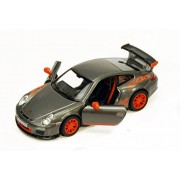 2010 Porsche 911 Gt3 Rs, Gray Kinsmart 5352 D 1/36 Scale Diecast Model Toy Car