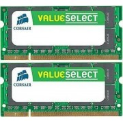 Corsair 8 GB SO-DIMM DDR2 - 800MHz - (VS8GSDSKIT800D2) Corsair ValueSelect Kit CL5