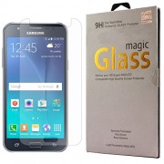 DMG Curved Tempered Glass Screen Protector for Samsung Galaxy J2 J200 (Pack of 2 Arc 2.5D 9H 0.3mm Tempered Glass)