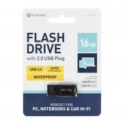 FLASH DRIVE USB 2.0 16GB WATERPROOF PLATINET PLY0200