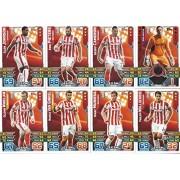 Match Attax 2015/2016 Stoke City Team Base Set Plus Star Player, Captain & Away Kit Cards 15/16