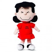 "Official Peanuts Snoopy Lucy Super Soft Plush Toy - 10"" by Aurora"