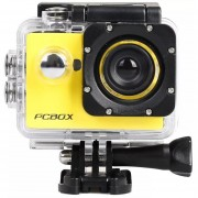 Cámara Deportiva Pcbox Pcb-c720k Junior 1080p Video Avi 5mp Amarilla