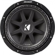 Kicker 43C104 Comp 10 300 Watt SVC 4-ohm Car Audio Subwoofer Woofer Sub C104